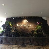 Photo taken at Turtle Bay Resort by Shamara B. on 1/28/2013