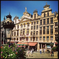 Photo taken at Grand Place by Guy L. on 7/8/2013