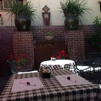 Photo taken at Toni's Courtyard Cafe by Jamie W. on 5/20/2017
