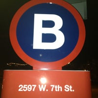 Photo taken at B-Cycle Station W 7th St by Gera C. on 5/28/2013