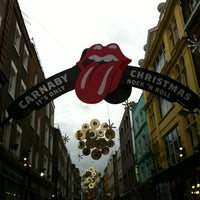 Photo taken at Carnaby Street by Keith C. on 12/23/2012