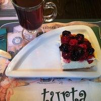 12/10/2012 tarihinde Elçin K.ziyaretçi tarafından Turta Home Cafe'de çekilen fotoğraf