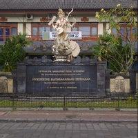 Photo taken at Universitas Mahasaraswati Denpasar by Kopit B. on 8/5/2013