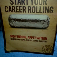 Photo taken at Chipotle Mexican Grill by John G. on 10/27/2012