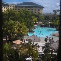 Photo taken at Loews Royal Pacific Resort at Universal Orlando by Jenny J. on 7/5/2013