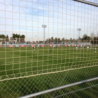 Photo taken at Ciudad Deportiva Real Zaragoza by David S. on 2/16/2013