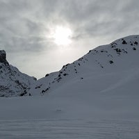 Photo taken at Courchevel Moriond 1650 by Maria C. on 1/14/2018