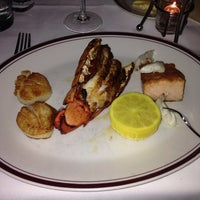 Photo taken at Chops Lobster Bar by Aaron K. on 2/25/2014