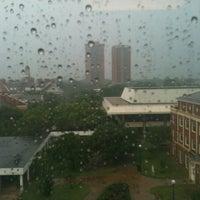 Photo taken at TWU - CFO (Classroom Faculty Office Building) by Technospunky on 5/21/2013