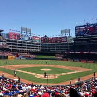 Photo taken at Globe Life Park in Arlington by Katie C. on 6/30/2013