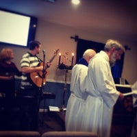 Photo taken at Church of the Messiah by Gilbert F. on 12/15/2013