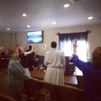 Photo taken at Church of the Messiah by Gilbert F. on 10/27/2013