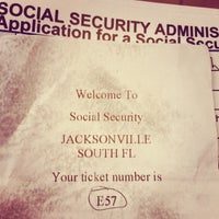 Photo taken at Social Security Administration by Gilbert F. on 7/14/2014