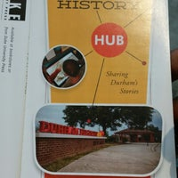 Photo taken at Durham History Hub by eric w h. on 10/28/2014