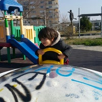 Photo taken at Yörük Ali Efe Parkı by Yeliz K. on 1/28/2018
