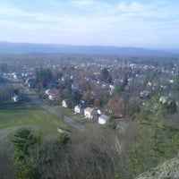 Photo taken at Poet's Seat Tower by Amy P. on 11/23/2012