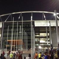 Photo taken at Olympic Stadium (Engenhão) by Utymo O. on 10/4/2012