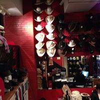 Photo taken at Hatbox: A Modern Haberdashery by Utymo O. on 3/8/2014