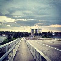 Photo taken at Eau Gallie Causeway by Kurt P. on 5/19/2013