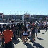 Photo taken at The Strip at Las Vegas Motor Speedway by Mike P. on 10/28/2012
