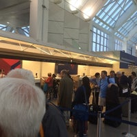 Photo taken at Delta Ticket Counter by Ryan H. on 5/9/2014