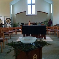 Photo taken at Messiah Lutheran Church by Lisa T. on 3/25/2016