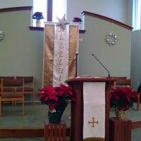 Photo taken at Messiah Lutheran Church by Lisa T. on 12/24/2014
