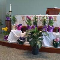Photo taken at Messiah Lutheran Church by Lisa T. on 4/5/2015