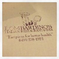 Photo taken at Lombardino's Restaurant by Jon B. on 2/16/2013