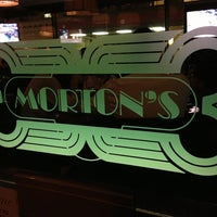 Photo taken at Morton's the Steakhouse by Guillermo S. on 3/30/2013