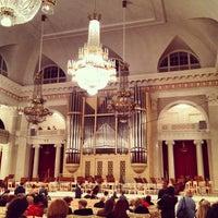 Снимок сделан в Филармония им. Д. Д. Шостаковича. Большой зал пользователем Aleksey T. 1/12/2013