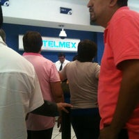 Photo taken at Telmex Camarones by cesar O. on 5/10/2013