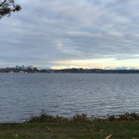 Photo taken at Leschi Park by Mark V. on 12/29/2015