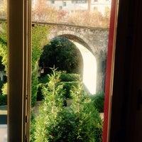 Photo taken at Hotel Borgo Antico by Tatiana R. on 11/2/2014