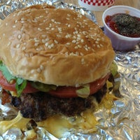 Photo taken at Five Guys by Isabel R. on 4/11/2013
