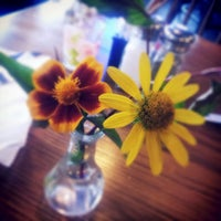Photo taken at Cafe Arazu by matthew d. on 11/7/2012