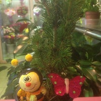 Photo taken at цветочный магазин by Алёна Ш. on 1/11/2014