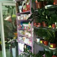 Photo taken at цветочный магазин by Алёна Ш. on 6/21/2013