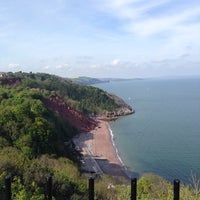 Photo taken at Babbacombe Downs by Kat S. on 5/4/2014