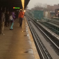 Photo taken at M.T.A Subway Saratoga Ave 3&4 Trains by Twason L. on 4/7/2014