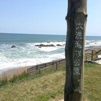 Photo taken at 大洗海岸公園 by ypsilon on 5/4/2013