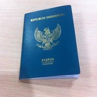 Photo taken at Kantor Imigrasi Kelas I Jakarta Utara by Irvan e. on 4/29/2016