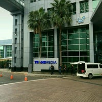 Photo taken at PT. Televisi Transformasi Indonesia (Trans TV & TRANS7) by Irvan e. on 1/11/2017