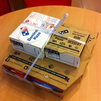 Photo taken at Domino's Pizza by Irvan e. on 2/2/2015