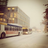 Photo taken at 4th and Nicollet Mall Bus Stop by David E. on 1/30/2014
