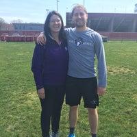 Photo taken at Warren McGuirk Alumni Stadium by Ron S. on 4/15/2017