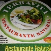 Photo taken at TerraViva Restaurante Natural by Danilo R. on 8/25/2014