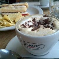 Photo taken at Fran's Café by RICARDO F. on 8/6/2012