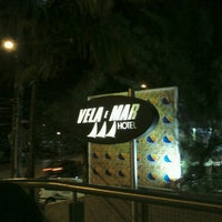 Photo taken at Vela e Mar Hotel Fortaleza by Andre M. on 10/6/2012