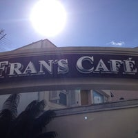 Photo taken at Fran's Café by Ana Maria C. on 5/8/2013